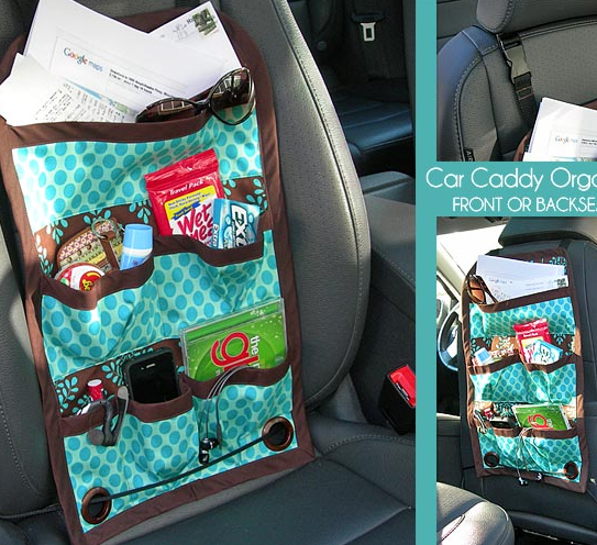 16 Projects To Organize Your Car Diy Home Sweet Home